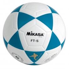 Balón Fútbol Mikasa FT-5 Blanco/Azul