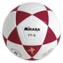 Balón Fútbol Mikasa FT-5 Blanco/Rojo
